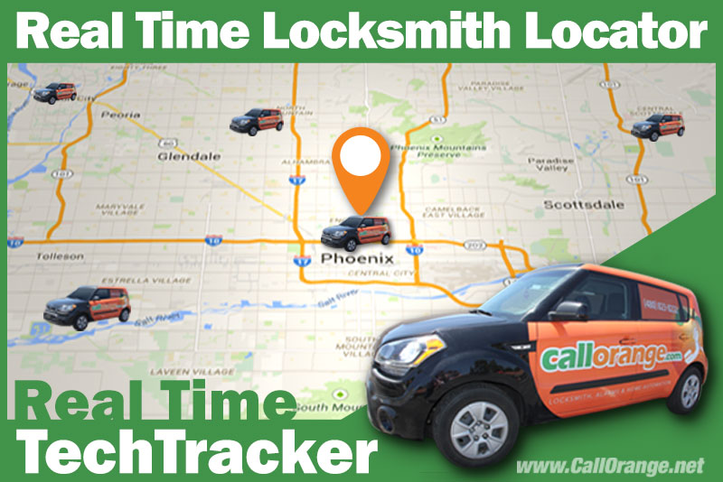 locksmith tech gps tracker