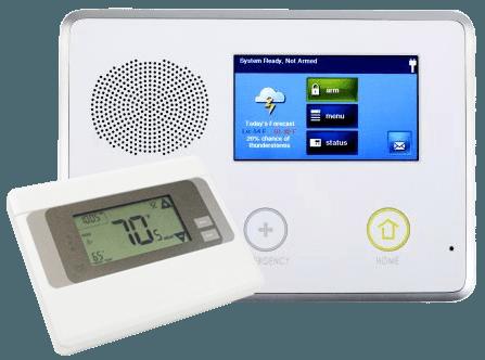 control panel smart thermostat