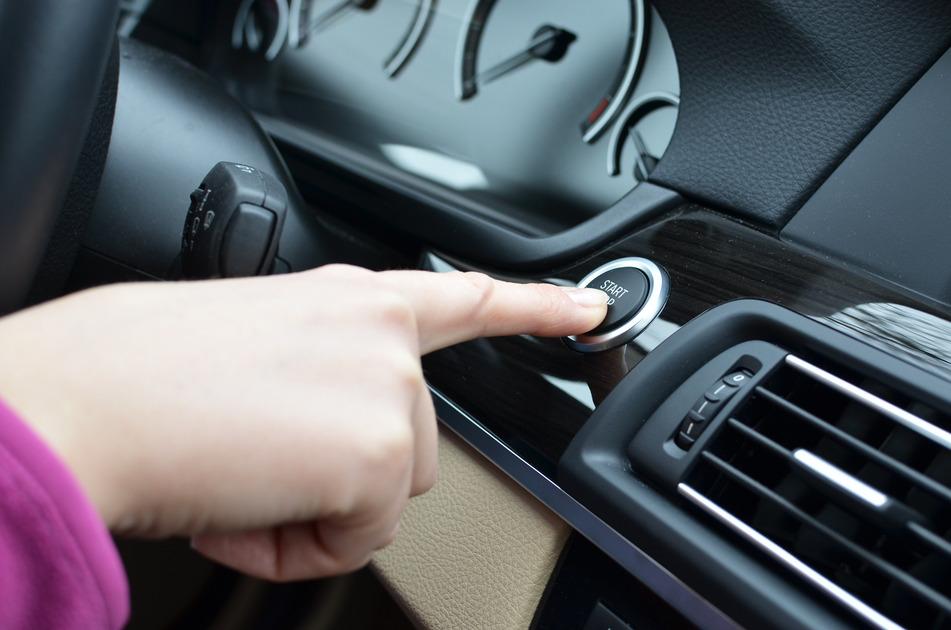 push button keyless ignition