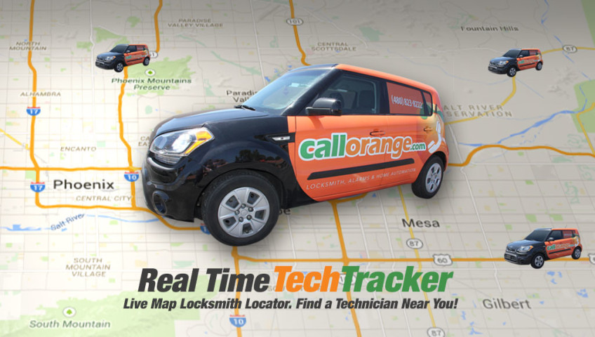 Locksmith Location Tracker