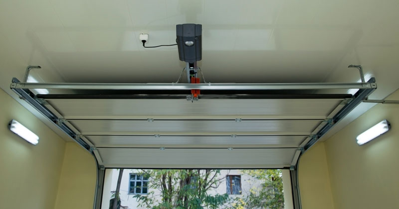 Garage door spring and motor repair