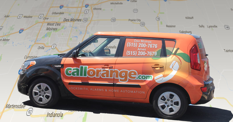 CallOrange Locksmith Des Moines Iowa