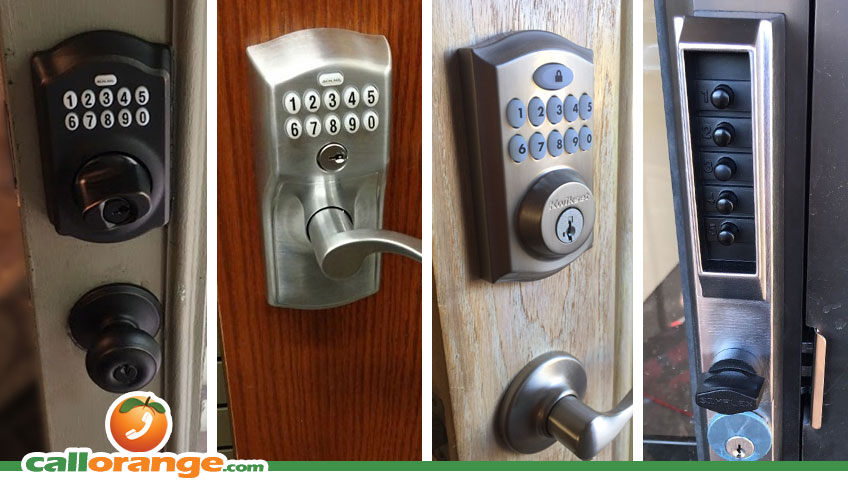 Home and Business Keypad Smart Locks Installed