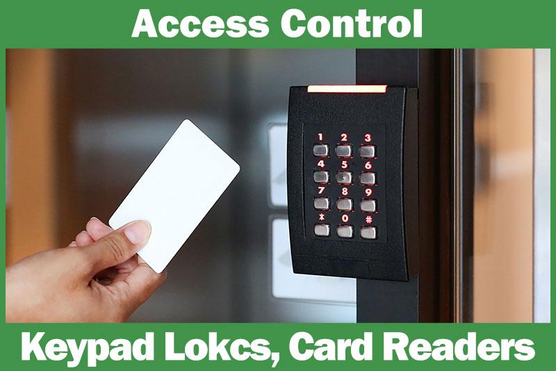 access control keypad door locks