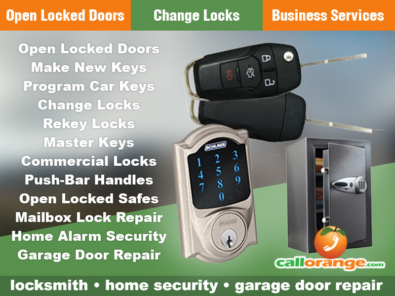 CallOrange Mobile Locksmith